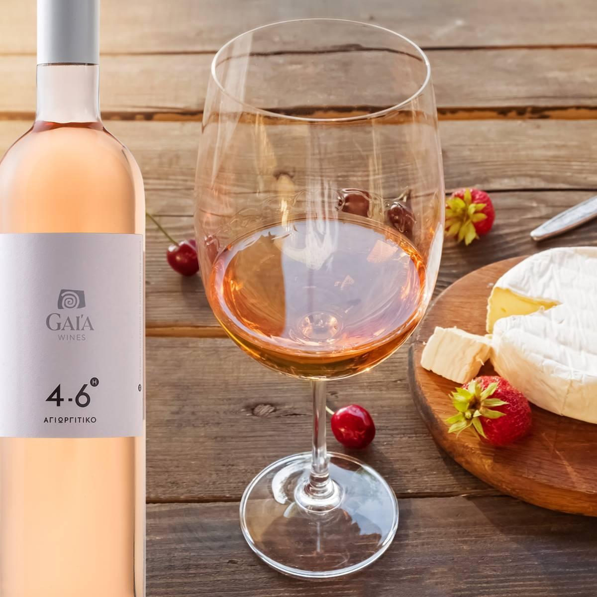 Wine Pairing 4-6h Rose - Gaia Wines