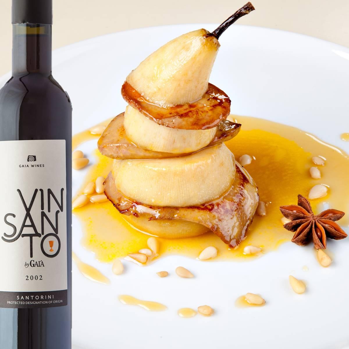 Wine Pairing VINSANTO - Gaia Wines